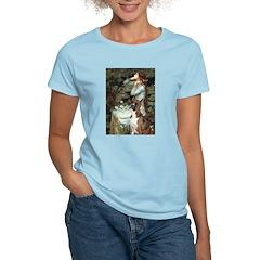 Ophelia & Brindle Boxer Women's Light T-Shirt
