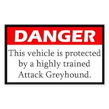 Attack Greyhound Decal