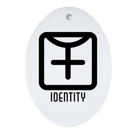 Identity : Female Oval Ornament