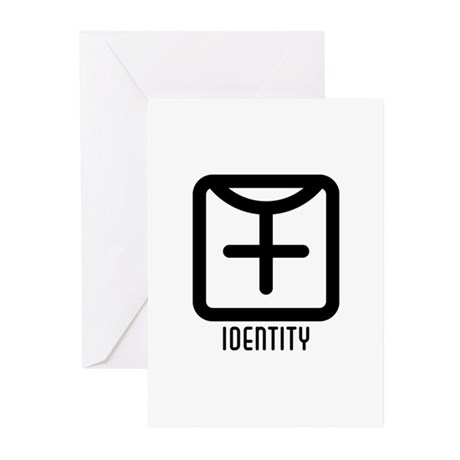 Identity : Female Greeting Cards (Pk of 10)