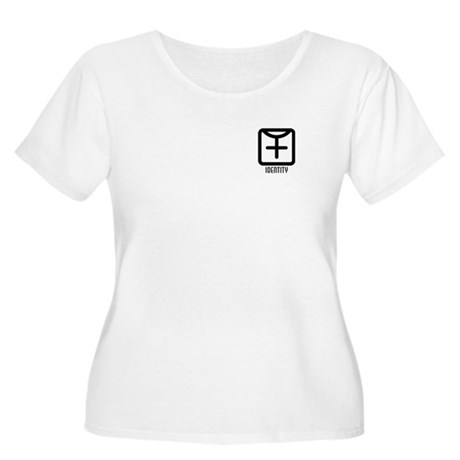 Identity : Female Women's Plus Size Scoop Neck T-S