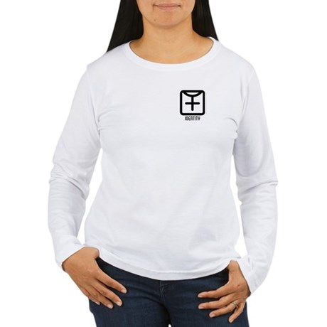 Identity : Female Women's Long Sleeve T-Shirt