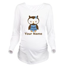 Personalized Assistant Principal Owl Long Sleeve M