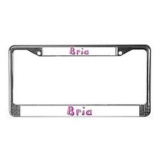 Bria Pink Giraffe License Plate Frame