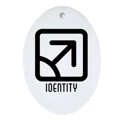 Identity : Male Oval Ornament