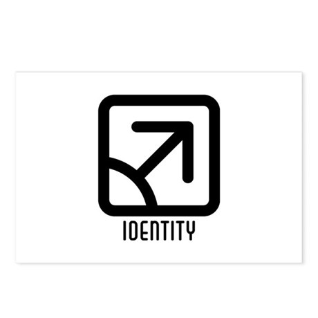 Identity : Male Postcards (Package of 8)