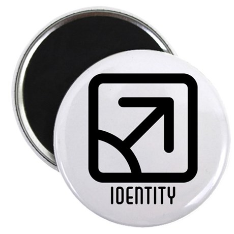 Identity : Male 2.25&quot; Magnet (100 pack)