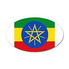 Flag of Ethiopia Wall Sticker