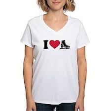 I love skate speed figure s Shirt