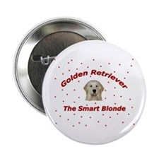 The Smart Blonde Button