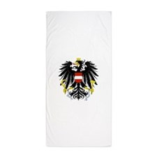 Austrian Coat of Arms Beach Towel