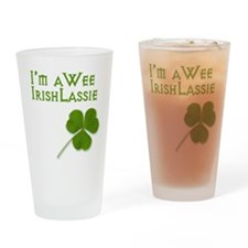Wee Irish Lassie Drinking Glass