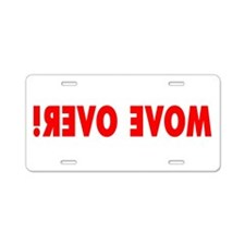 Cute Lane Aluminum License Plate