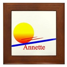 Annette Framed Tile