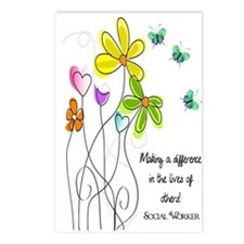 Social Worker Postcards (Package of 8)