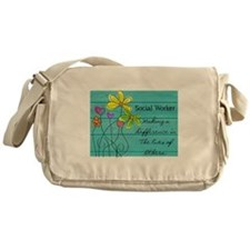 social worker Messenger Bag