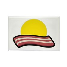 Bacon Sunset Magnets