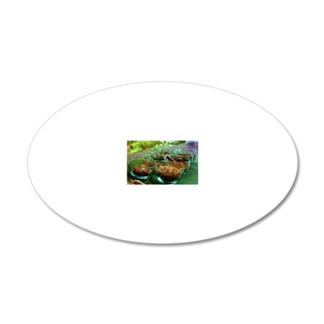 Herbals 20x12 Oval Wall Decal