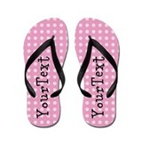 Personalized womens Flip Flops