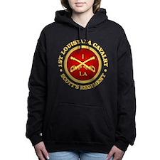 1st Louisiana Cavalry Hooded Sweatshirt