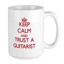Keep Calm and Trust a Guitarist Mugs