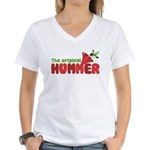 The Original Hummer Women's V-Neck T-Shirt