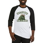 Save a Cowboy... Ride a Birder Baseball Jersey