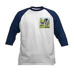 Lemon Blue OE Pair Kids Baseball Jersey