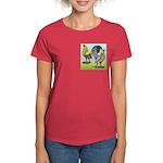 Lemon Blue OE Pair Women's Dark T-Shirt