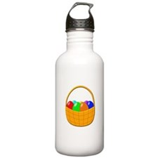 Easter Basket with Eggs Water Bottle