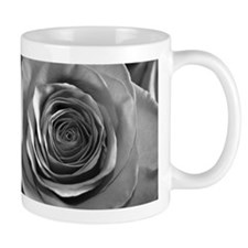 Black and White Rose Mugs