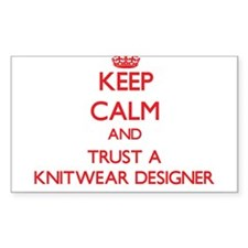 Keep Calm and Trust a Knitwear Designer Decal