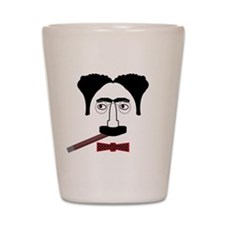 Groucho Marx Shot Glass