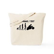 Custom Biker Evolution Motorcycle Tote Bag