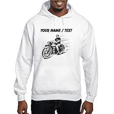Custom Biker Dude Hoodie