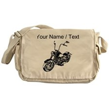 Custom Vintage Motorcycle Messenger Bag