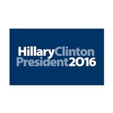 Hillary Clinton Rectangle Car Magnet