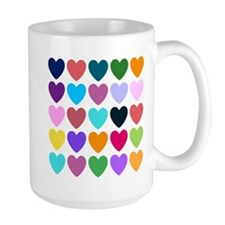 Hearts of All Kinds Mugs