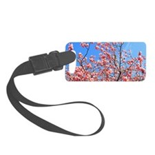 Spring cherry Luggage Tag