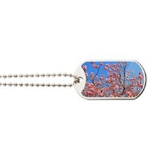 Spring cherry Dog Tags