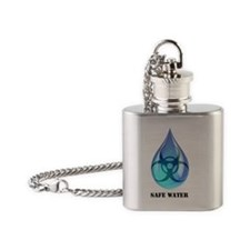 Safe Water Flask Necklace
