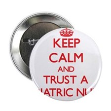 "Keep Calm and Trust a Pediatric Nurse 2.25"" Button"