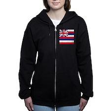 Flag of Hawaii Zip Hoodie
