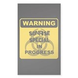 Sunrise Special Rectangle Decal