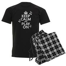 Keep Calm and Play On (music) pajamas