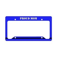 Proud Mom License Plate Holder