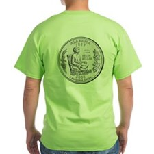 Alabama State Quarter T-Shirt