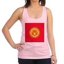 Flag of Kyrgyzstan Racerback Tank Top
