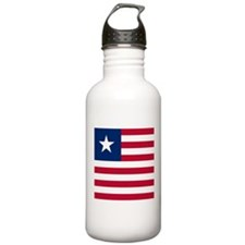 Flag of Liberia Sports Water Bottle