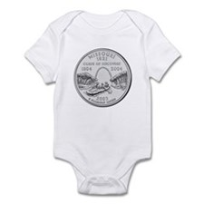 Missouri State Quarter Infant Creeper